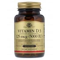Solgar Vitamin D3 5000 МЕ 100 капс.
