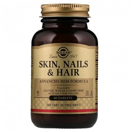 Solgar Skin Nails & Hair 60 таб.