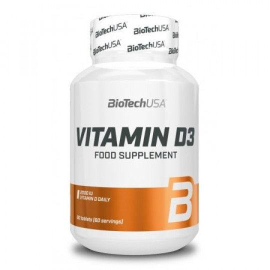 Biotech Nutrition Vitamin D3 2000 IU 60 таб.